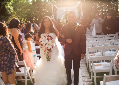 Just Married Krystyna and Adam at Garden Tuscana Reception Hall