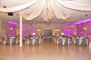 Quinceanera reception hall and ballroom at Garden Tuscana.