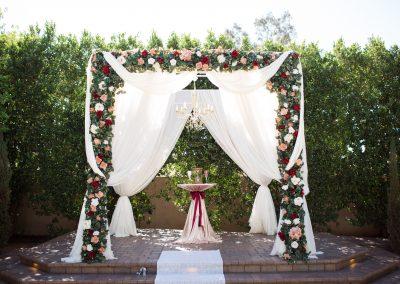 Modern Elegance Altar Garden Wedding Venue in Mesa Arizona
