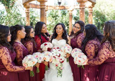 Modern Elegance Garden-Themed Wedding in Mesa Arizona