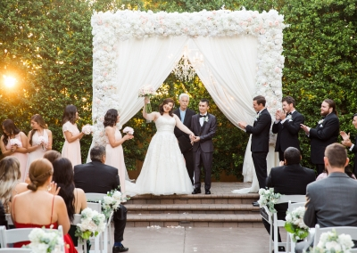 Roxana and Juan wedding at Garden Tuscana