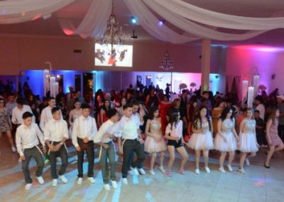 Quinceanera dance party at Garden Tuscana Reception Hall