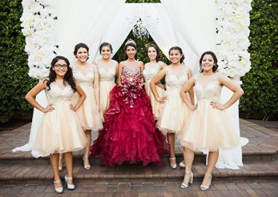 Quinceanera photo shoot