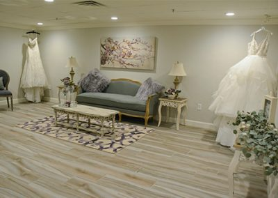 Garden Tuscana Reception Hall event in Mesa showing bridal suite