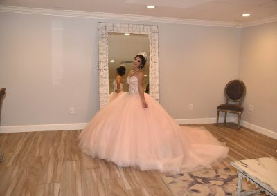 Dressing Room Suite for Quinceaneras at Garden Tuscana