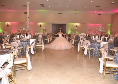 Garden Tuscana Coordinates Quinceanera Reception Decor and Design