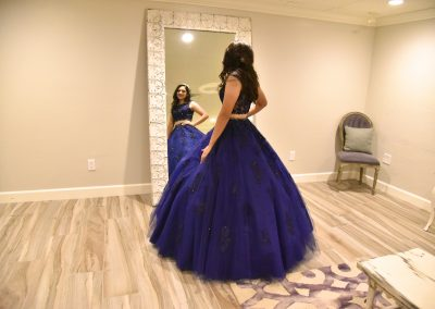 Garden Tuscana Master Dressing Room Suite for Quinceaneras