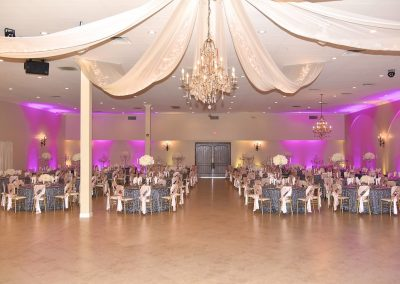 Quinceanera reception hall and ballroom at Garden Tuscana.