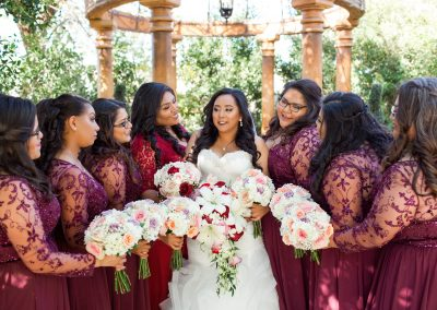 Modern Elegance Garden-Themed Wedding in Mesa Arizona