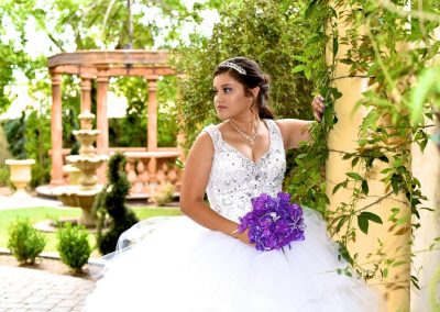 Traditional Quinceanera Outdoor Garden Ceremony in Mesa Arizona